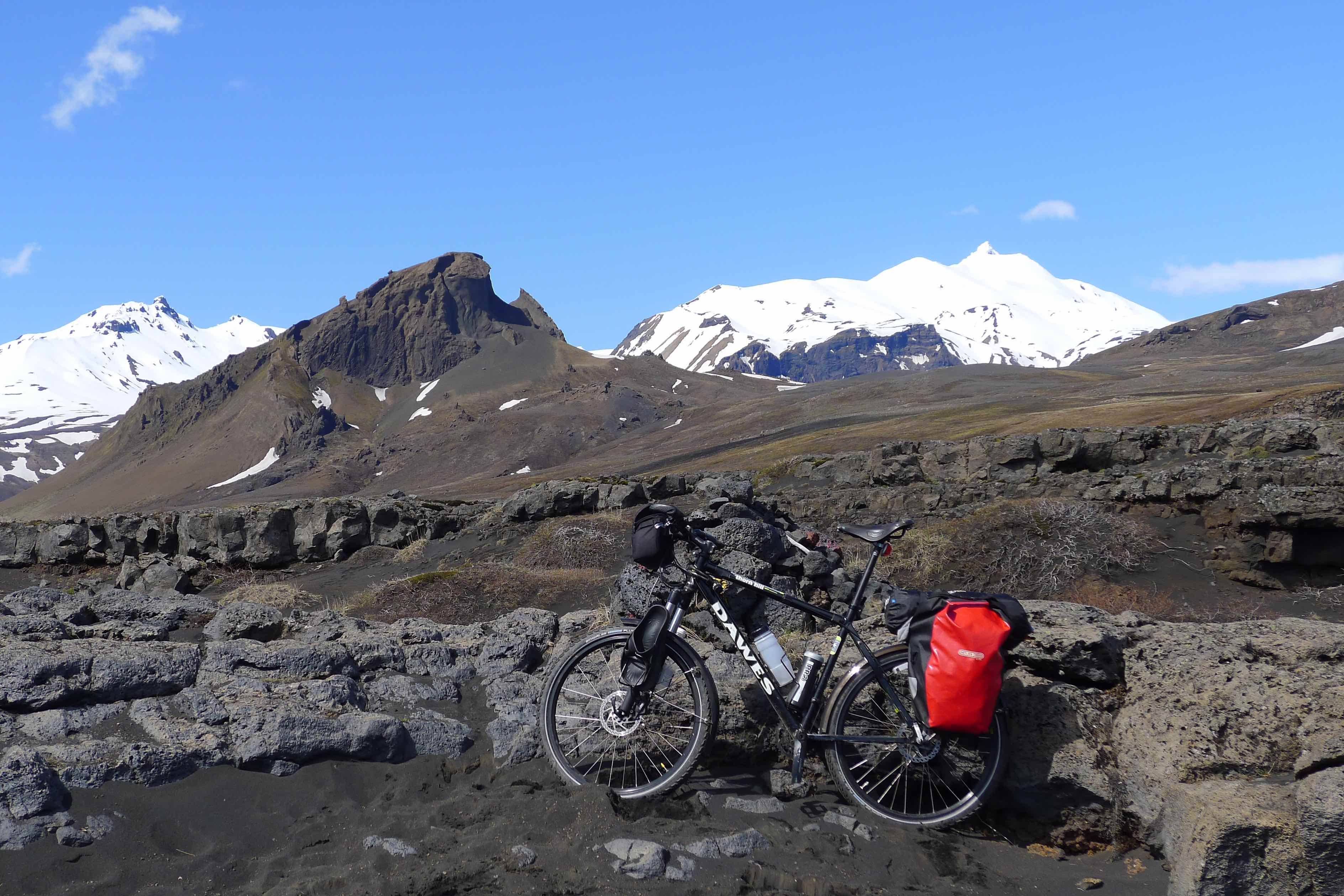 Biking the Laugavegur Trail