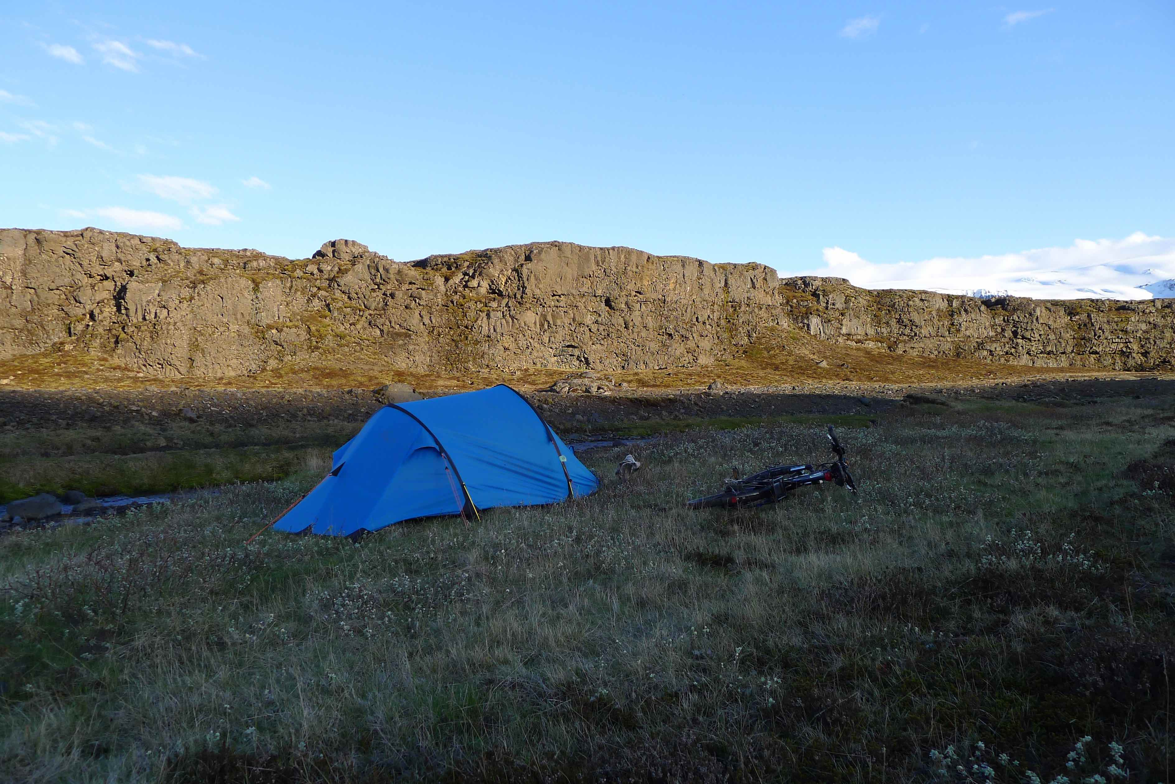 My favourite wild camp of the trip